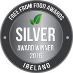 Silver Award in the 2016 Irish Free From Food Awards