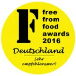 This product was awarded Highly Recommended status in the 2016 German Free From Food Awards