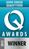 Our Q Awards winner badge