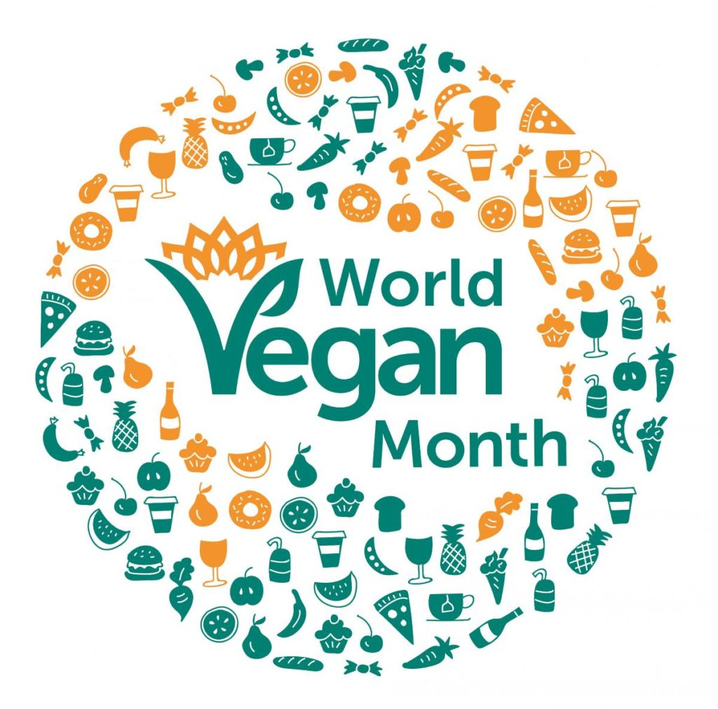 World VEgan Month 2017 logo